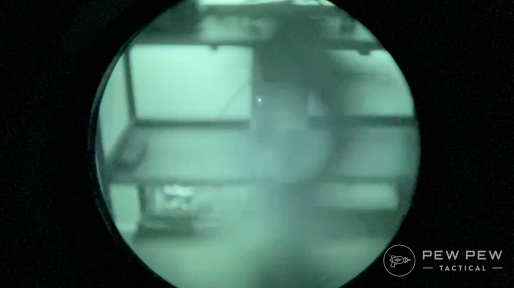 Aimpoint Comp M5 Night Vision View