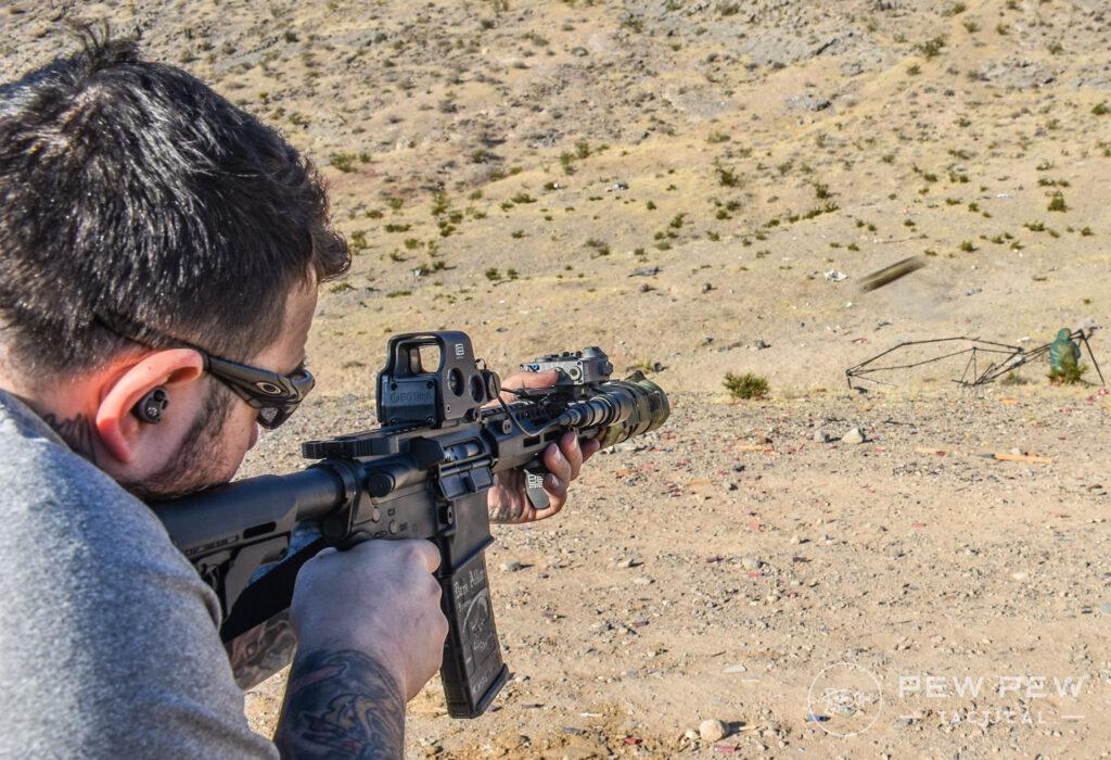 Armageddon Gear Suppressor Cover Shooting