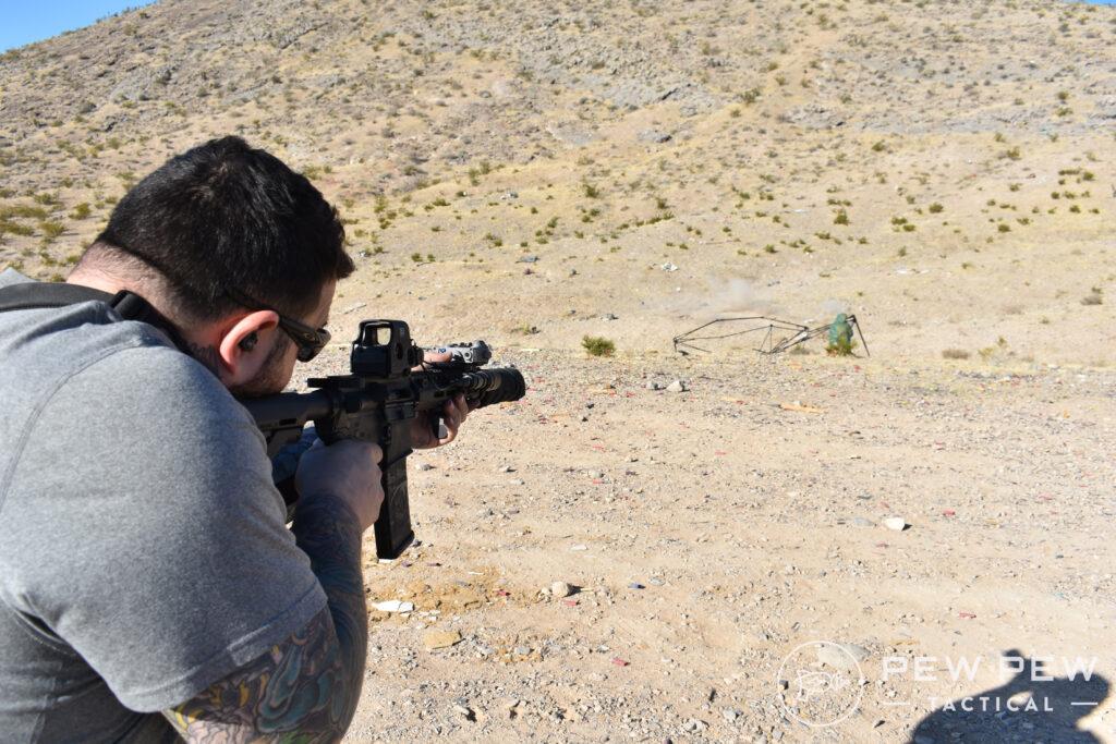 Burn Proof Gear Suppressor Cover Shooting