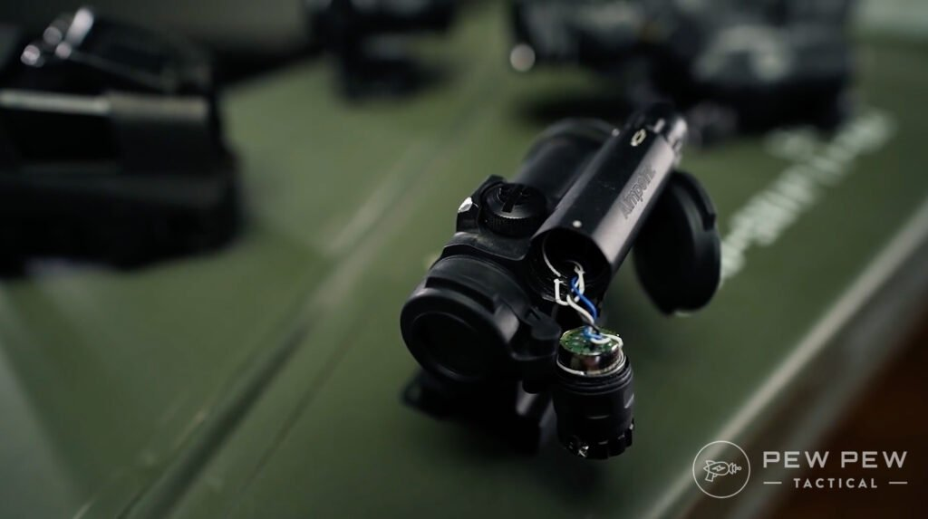 Aimpoint Comp M5 Post Torture Test Battery