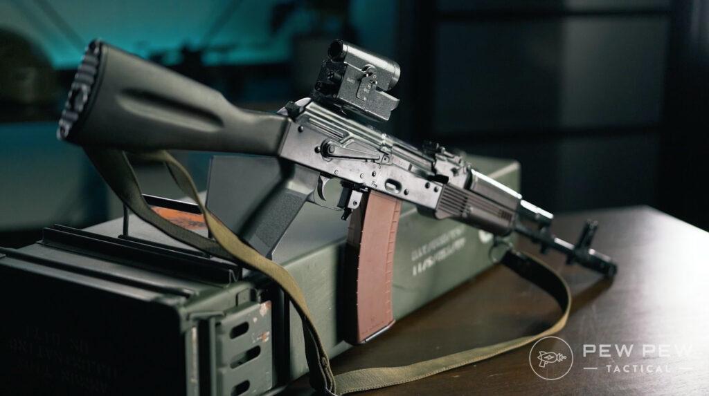Lancaster Arms Rough Rider AK-74 Rear