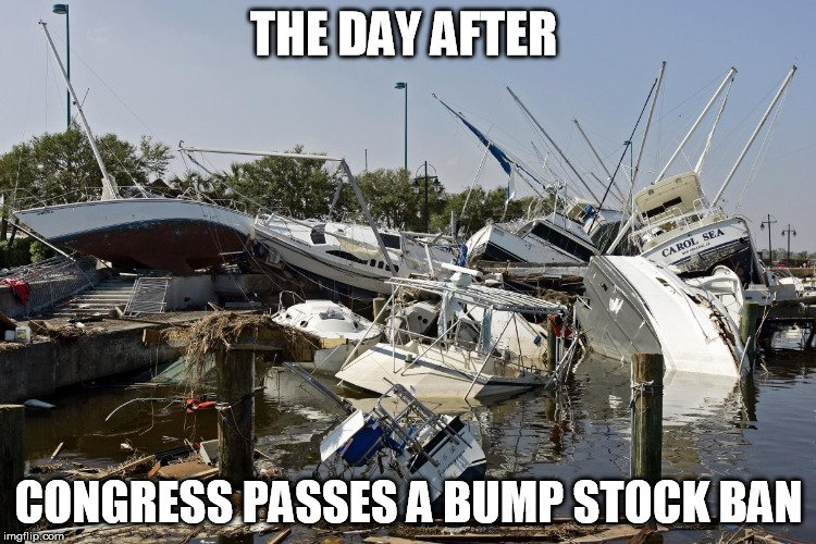 Boating Accident Meme Bump Stock