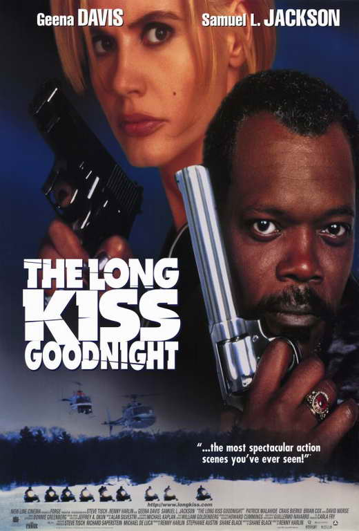Long Kiss Goodnight Poster