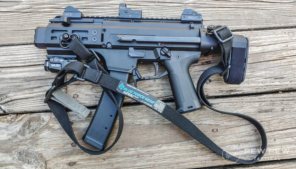 Micro Scorpion with BFG Vickers Sling