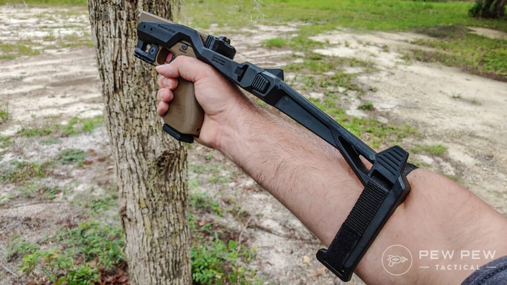 Using the Recover Tactical 20/20 brace