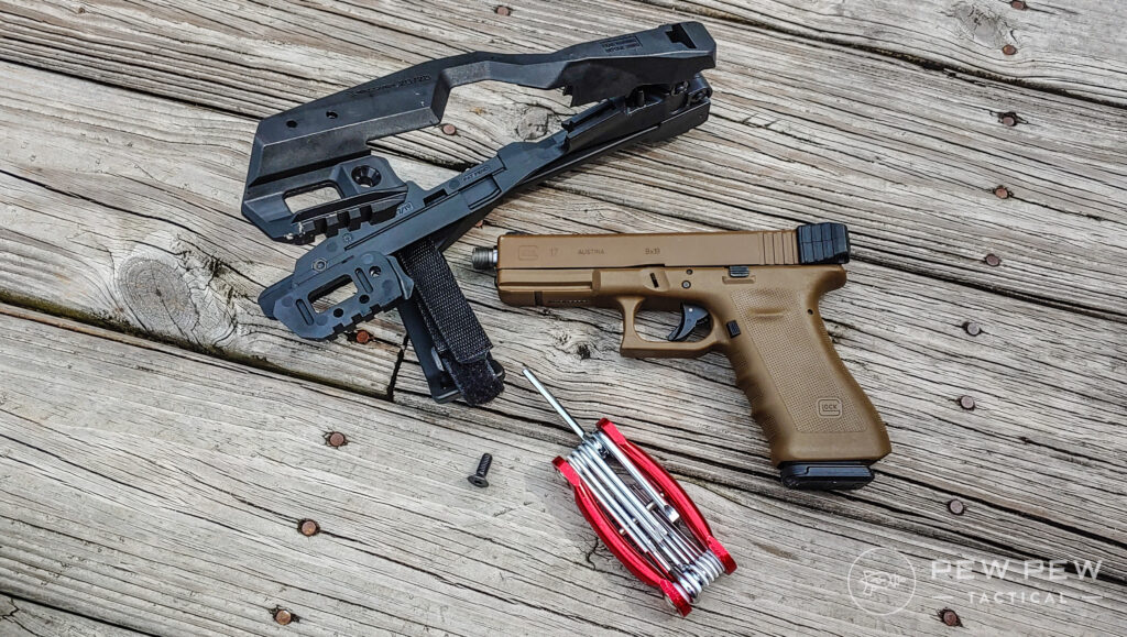 Recover Tactical 20/20 Brace and Glock