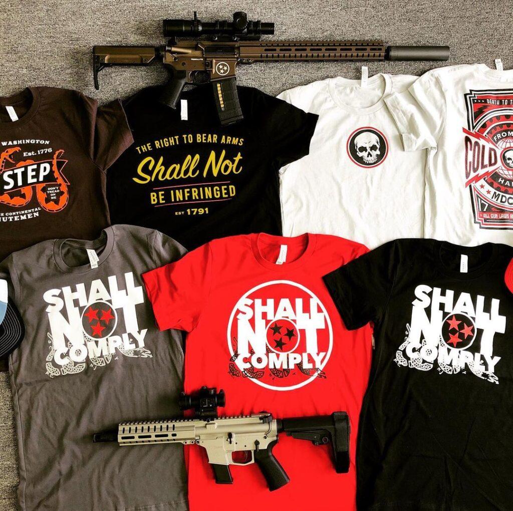 SNC T-Shirts and Guns