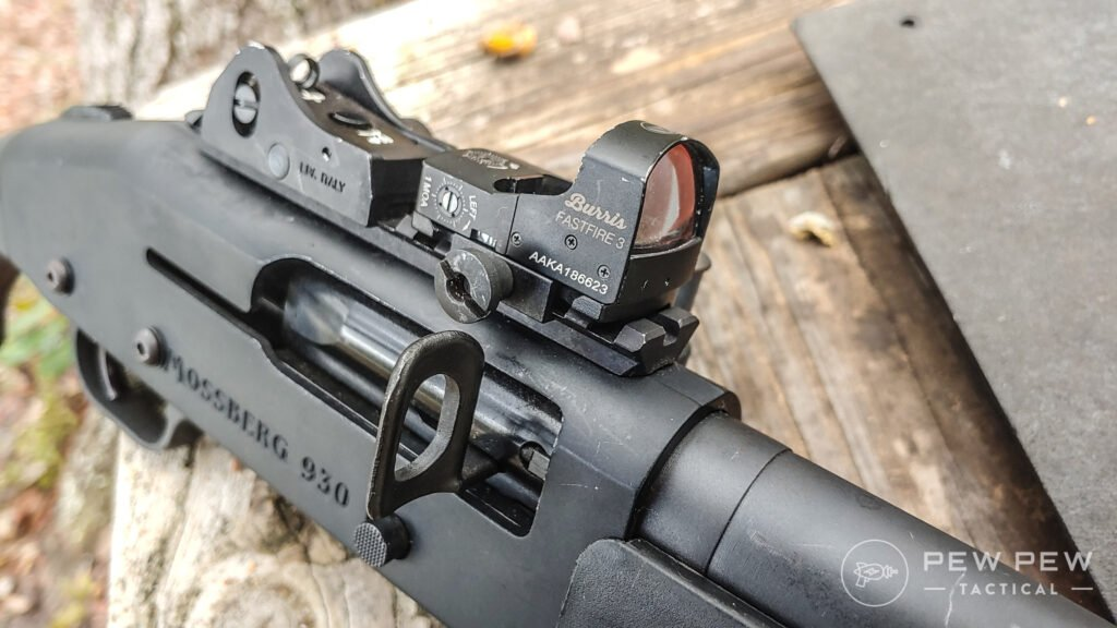 Burris Fastfire 3 on a Mossberg 930