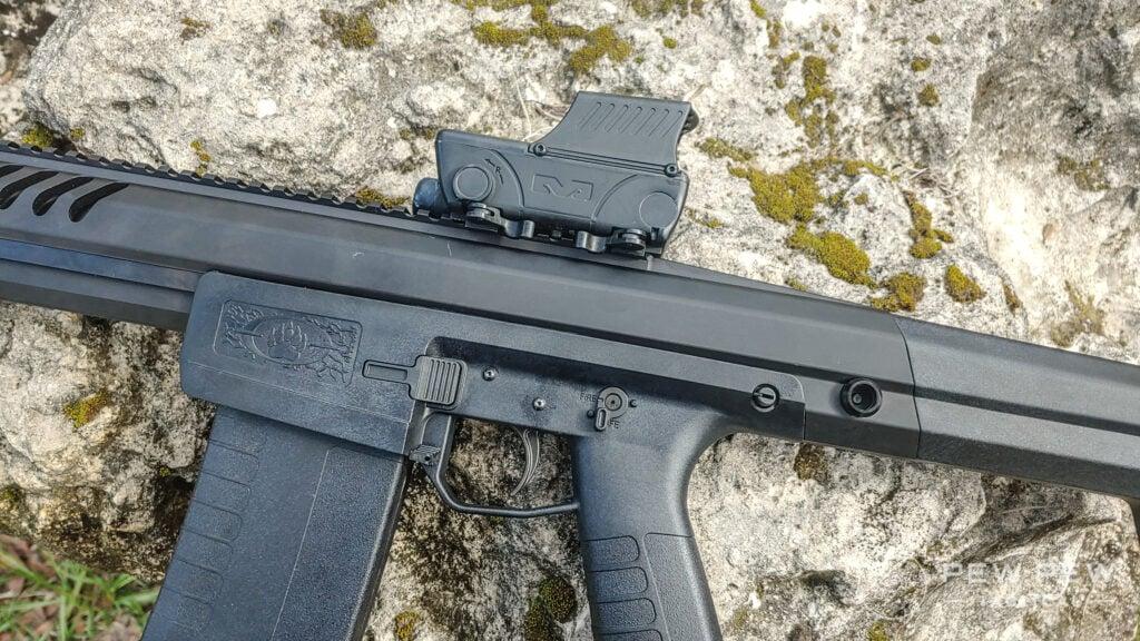 Meprolight Foresight on a Blackwater Firearms Sentry 12