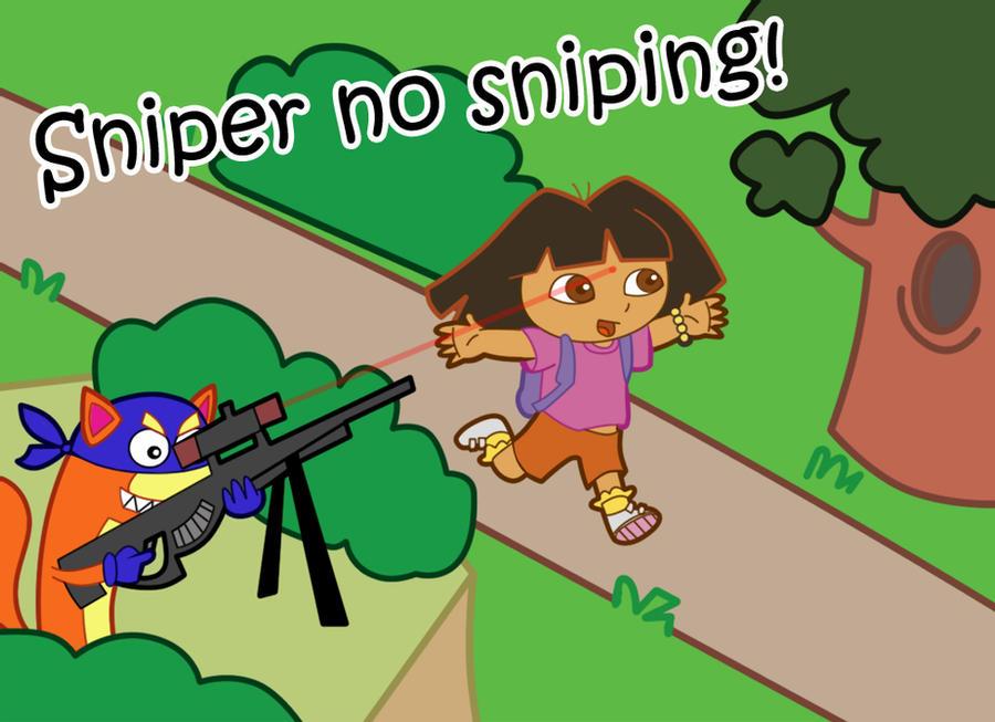 Sniper No Sniping Meme