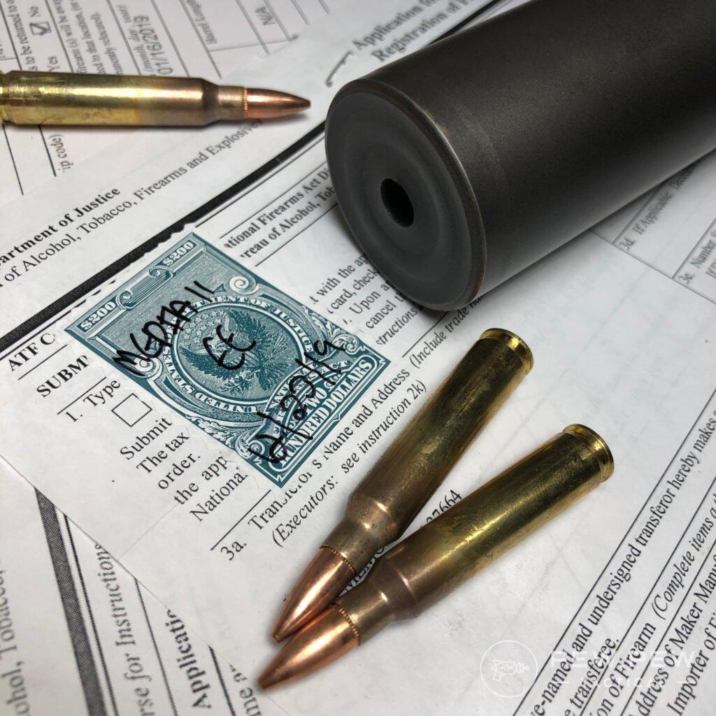 Suppressor ATF Stamp
