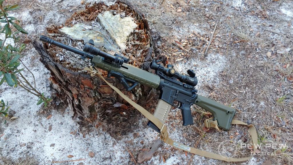 Cloud Defensive Rein on Rifle