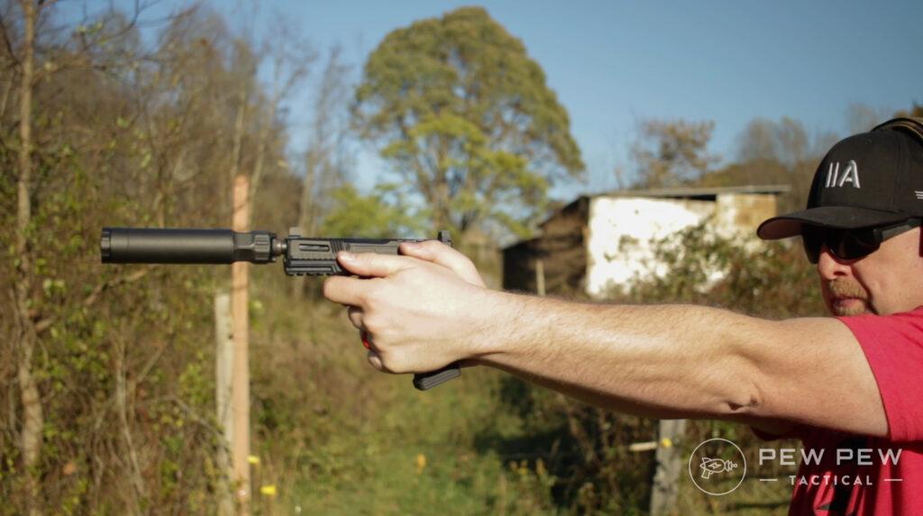 Silencer Center Banish 45 Pistol