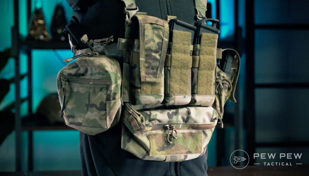 Crye Precision AirLite Chest Rig Right Side Profile