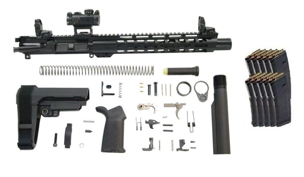 PSA Slant M-LOK MOE EPT SBA3 Pistol Kit