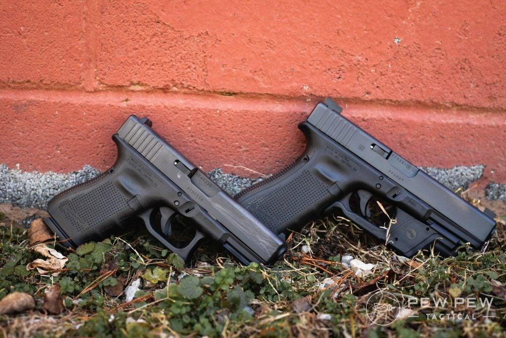 Glock G17 and G19 Gen 4