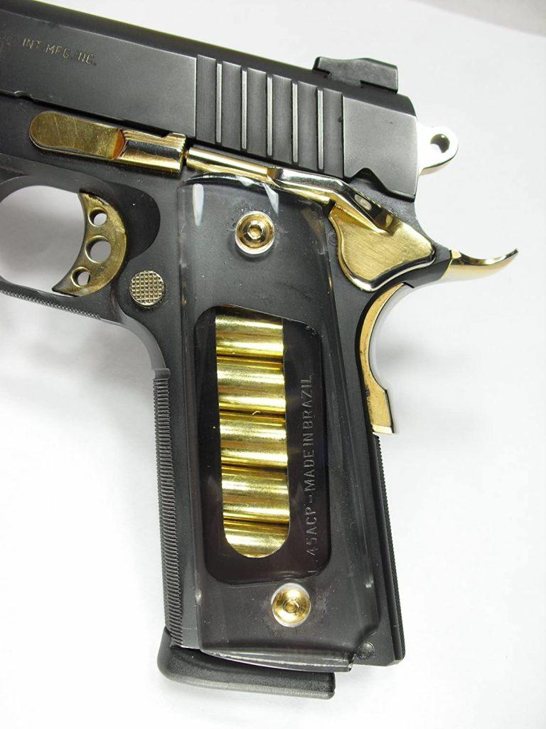 Clear 1911 grip