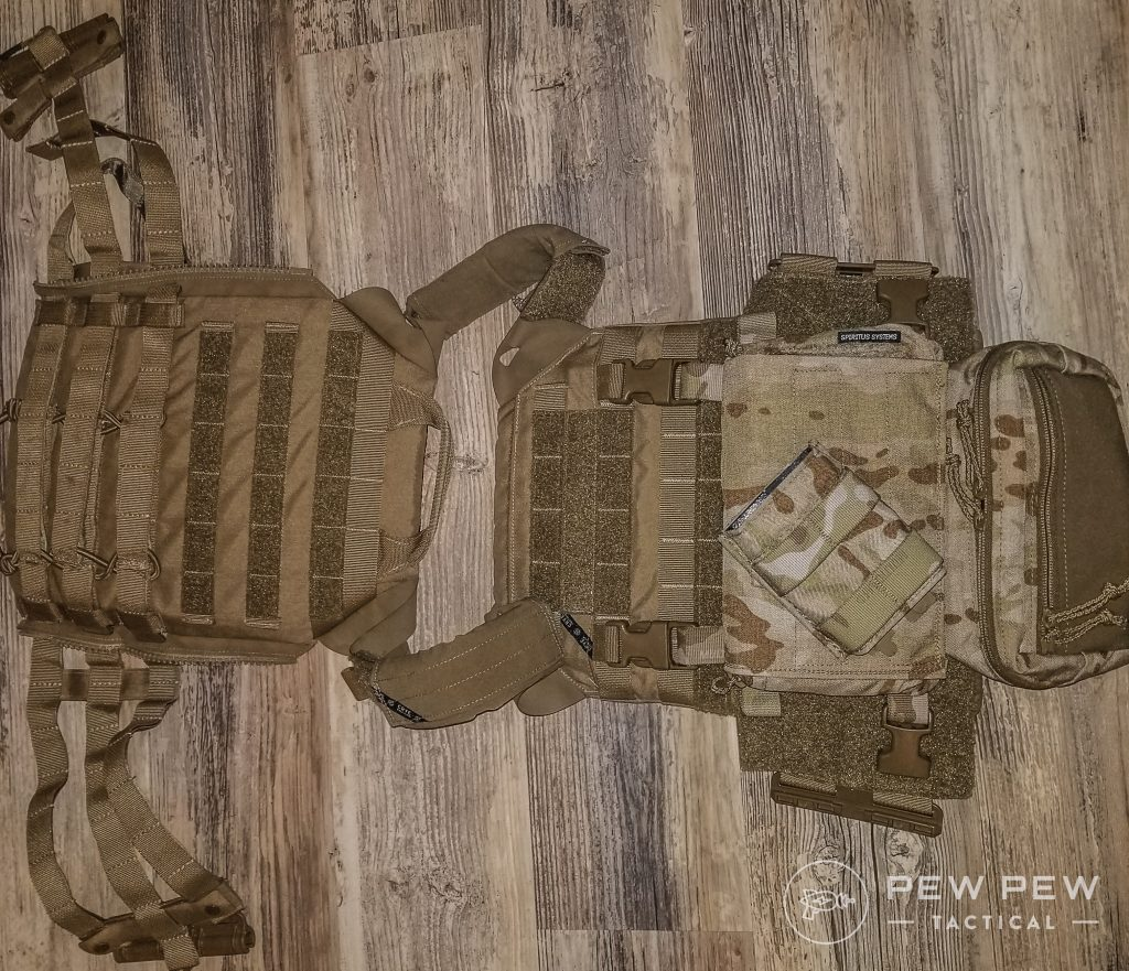 Crye Chest Rig with Spiritus Systems Pouches