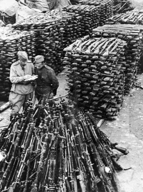 WWII surplus rifles