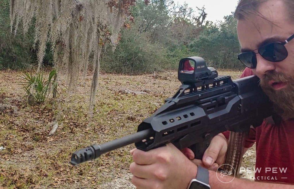 Holosun 510 Shooting