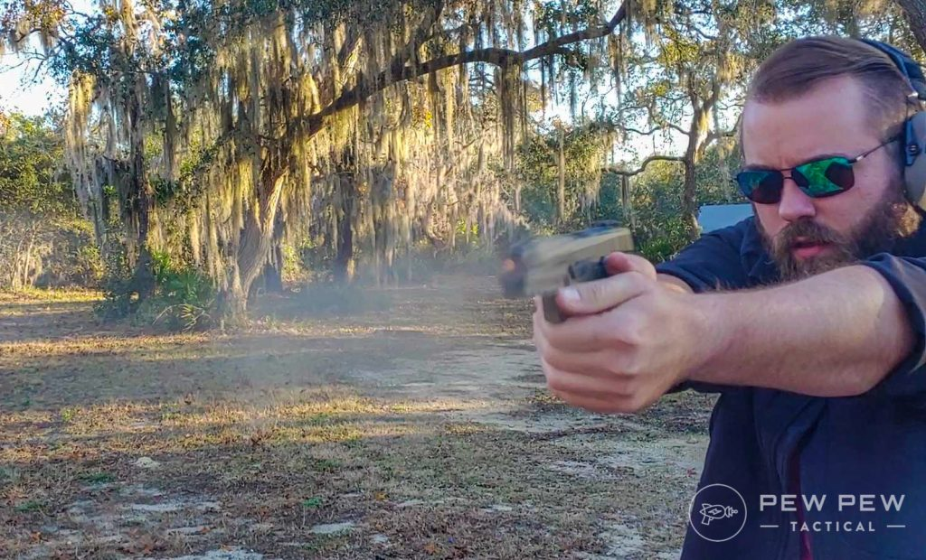 Sig Sauer AXG Shooting
