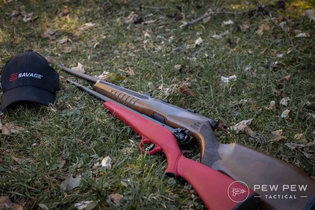 Savage Arms B22 G and Rascal