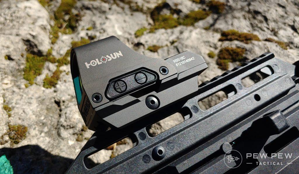 Holosun 510 On Rail
