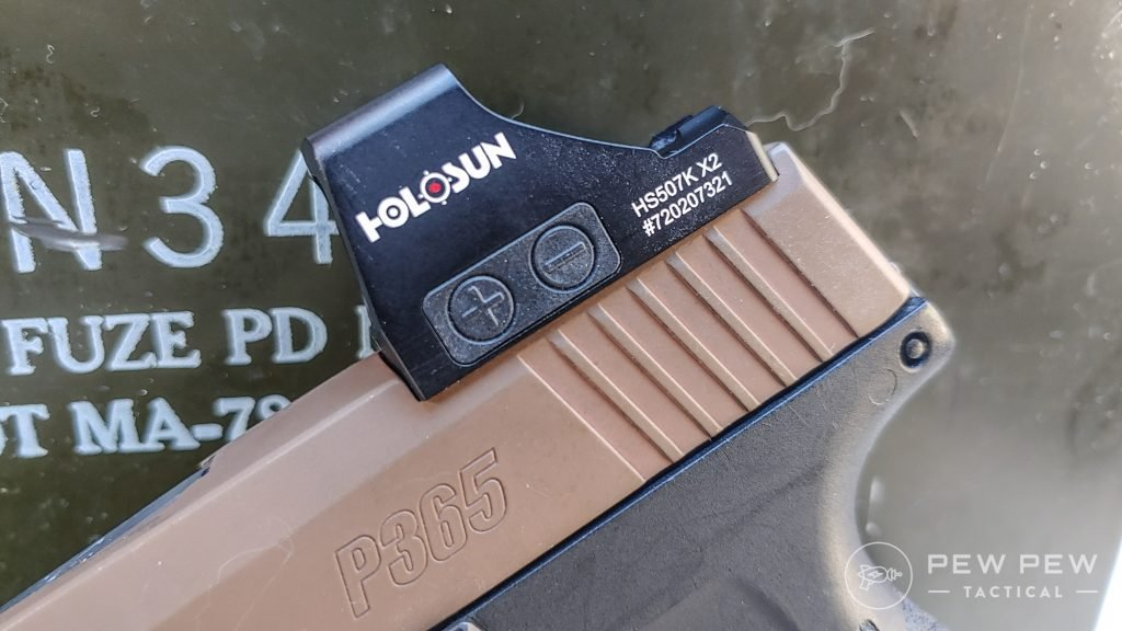 Sig Sauer P365 Upgrades Holosun 507K