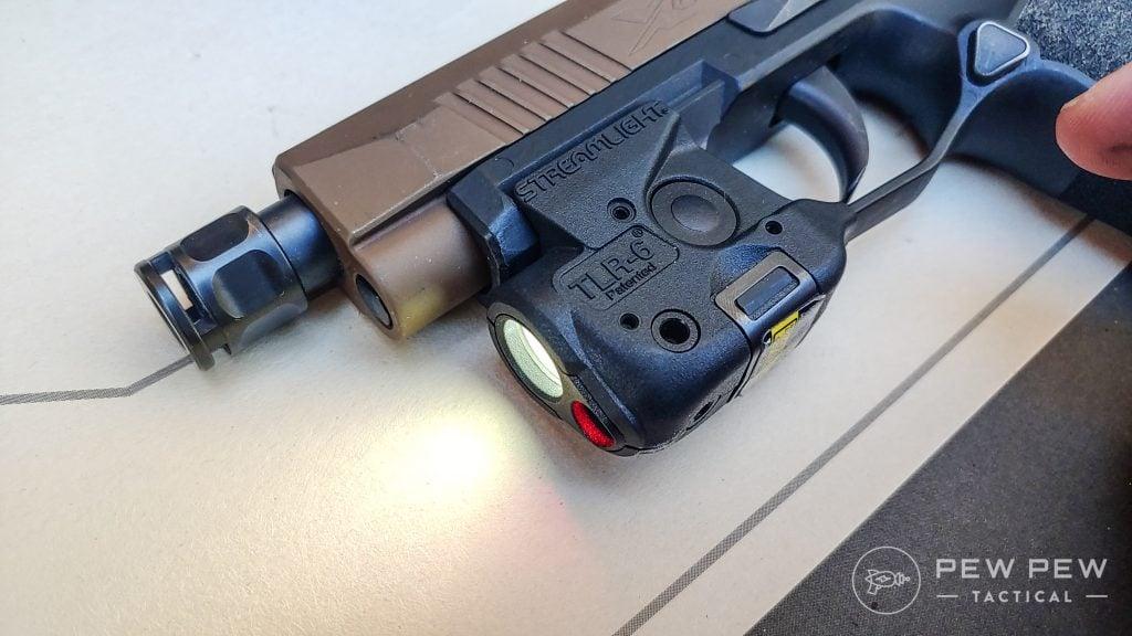Sig Sauer P365 Upgrades Light On