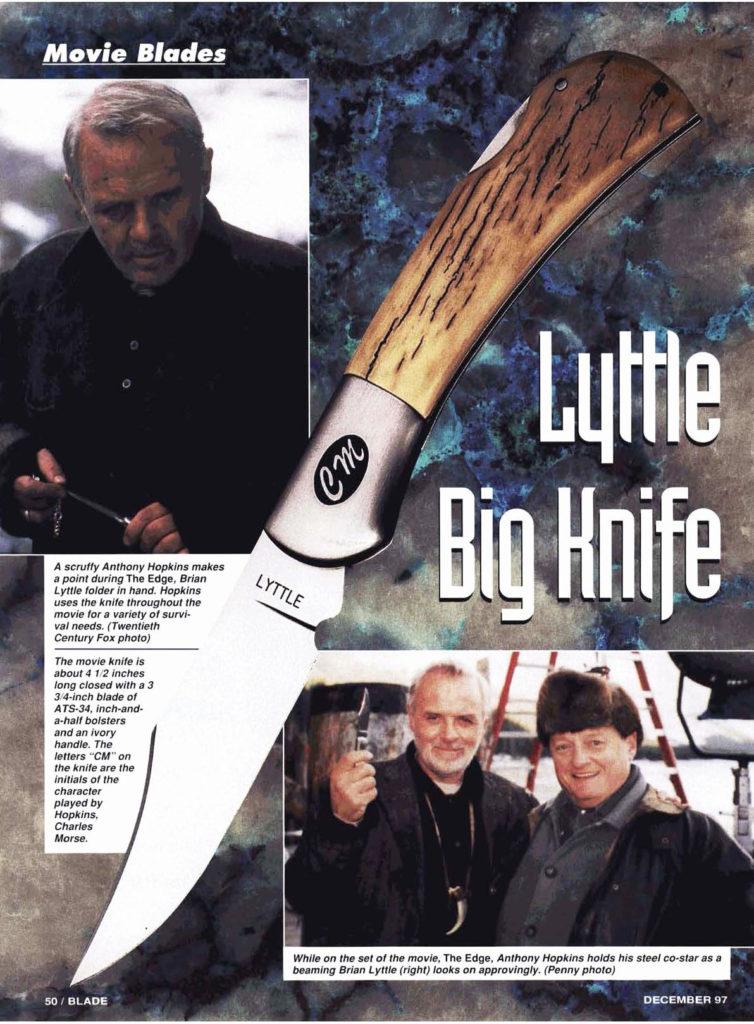Lyttle Survivla Knife Replica