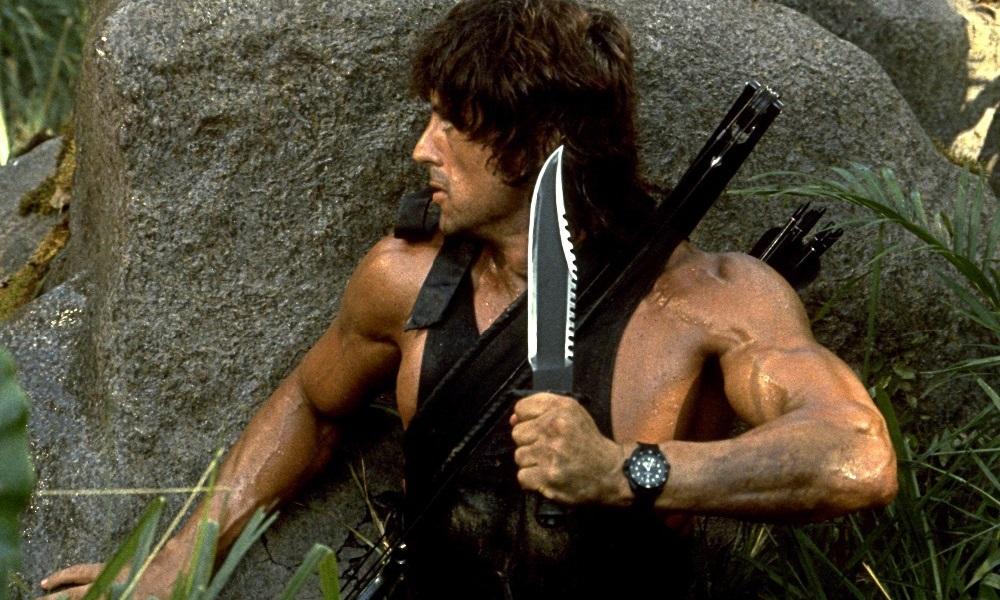 Rambo on the hunt