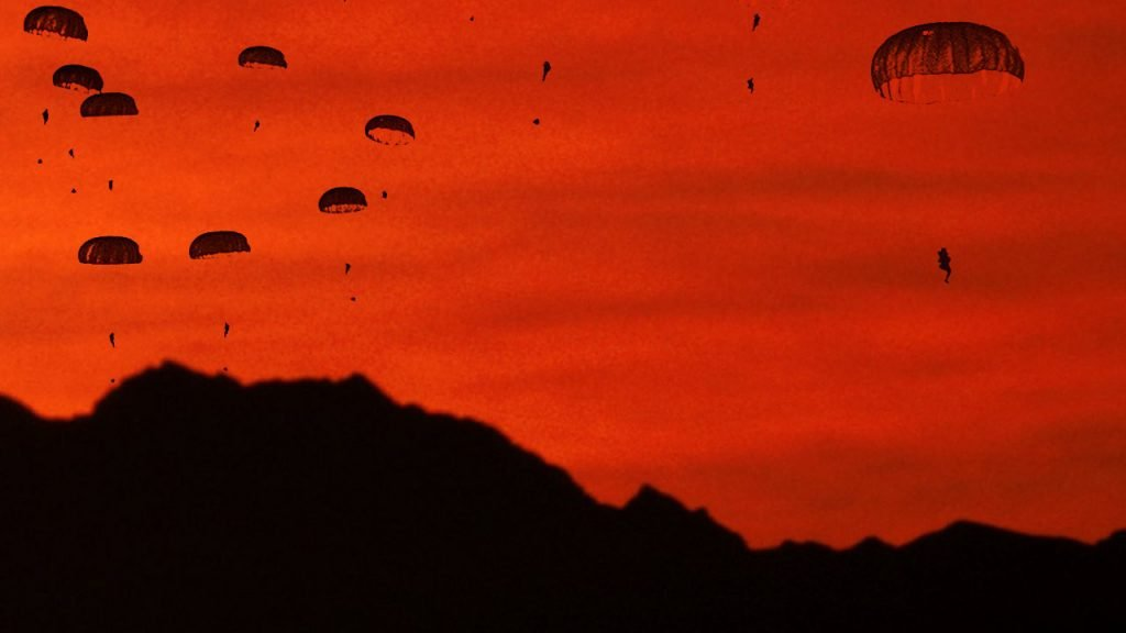 Red Dawn Paratroopers