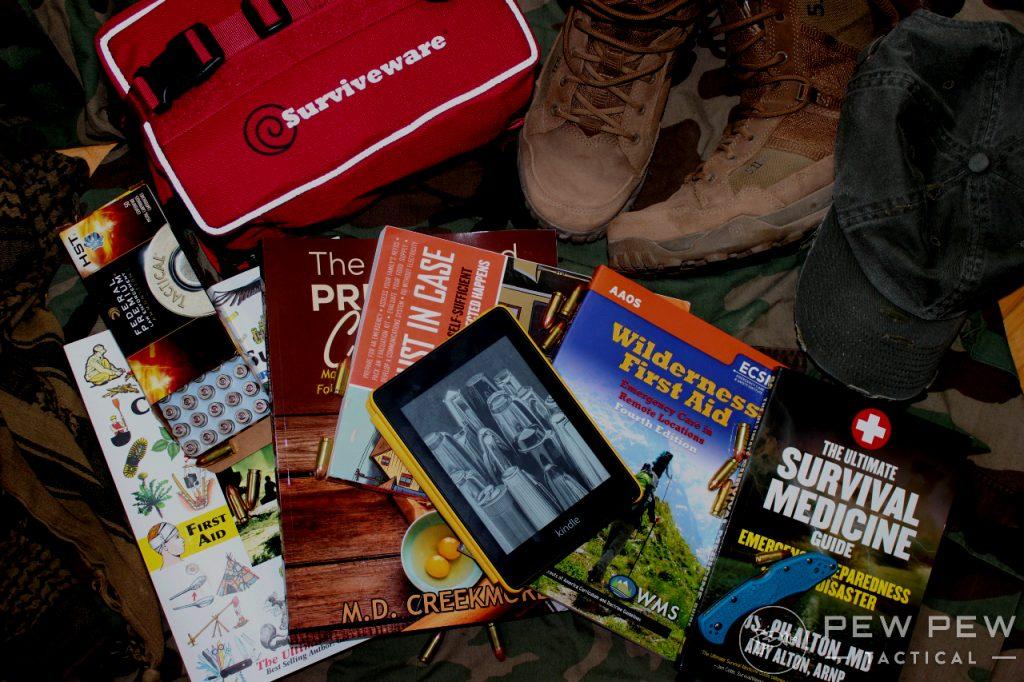 Best Survival Books Group Shot