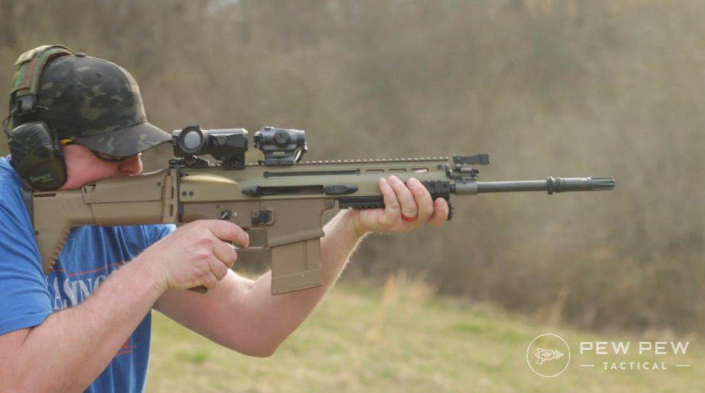 FN SCAR 17S Shooting