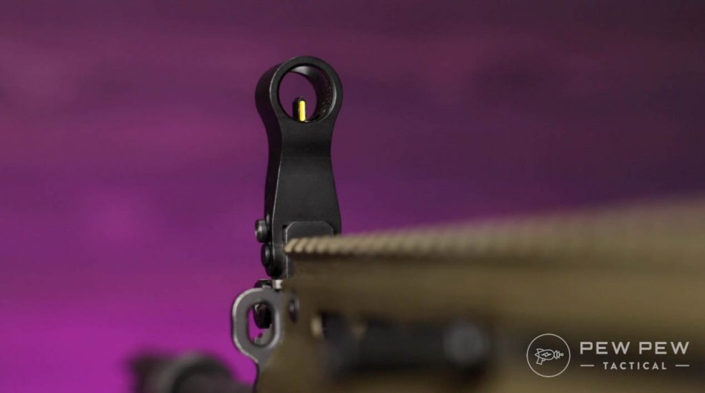 FN SCAR 17S Front Sight