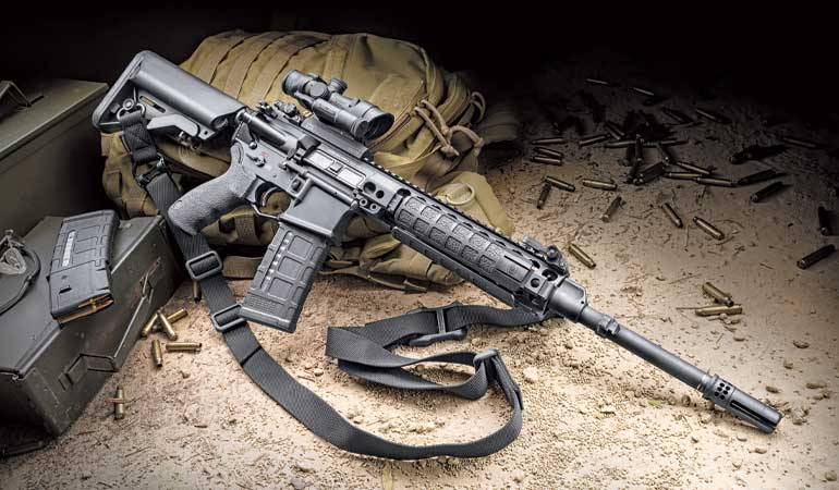 Lewis Machine and Tool New Zealand Reference Rifle