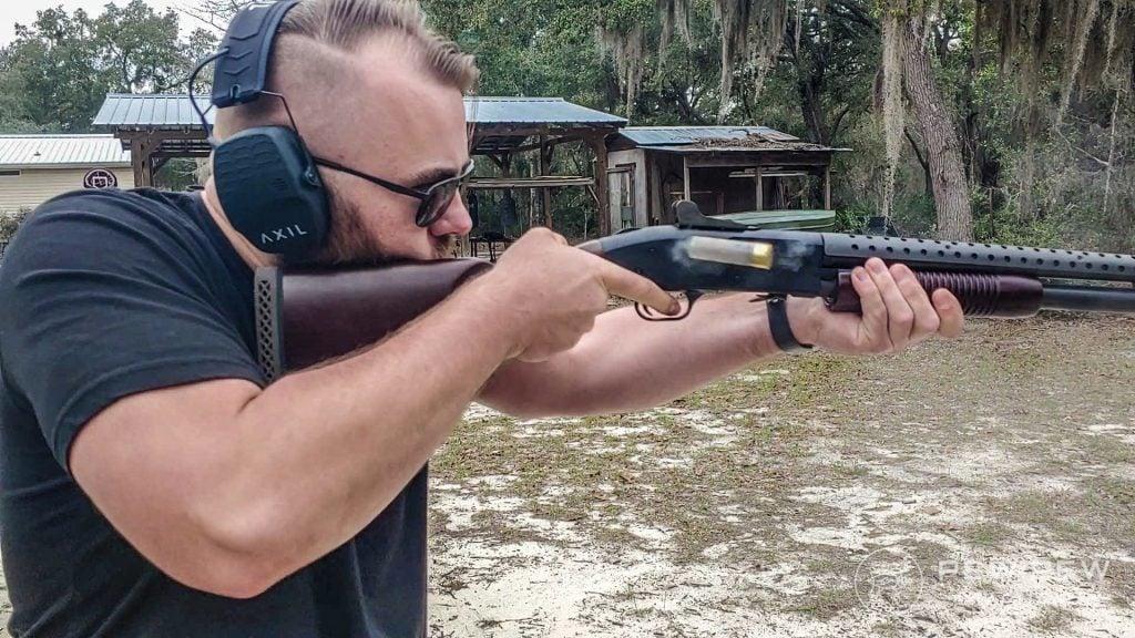 Mossberg Retrograde 590A1 Shooting