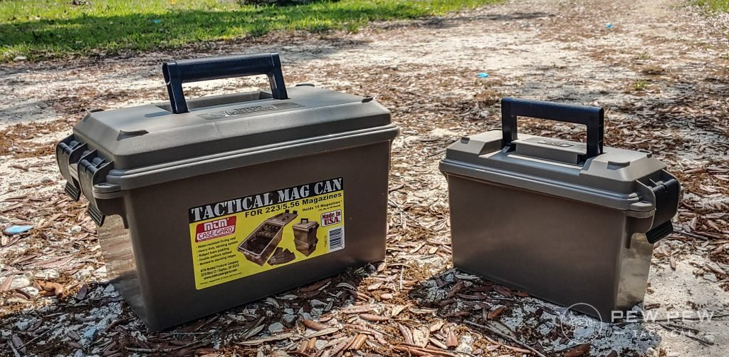 MTM Mag can and Plano Ammo Can