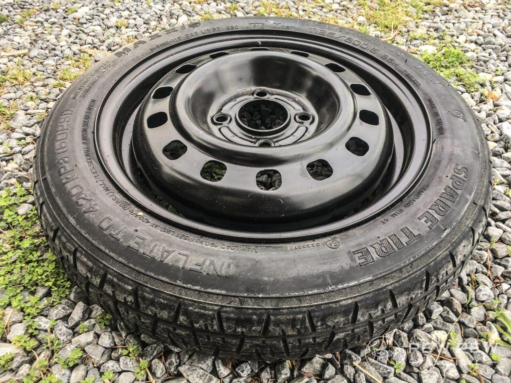 10. Prep Garage Spare Tire