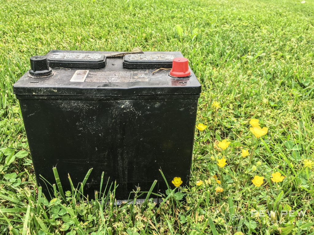 16. Prep Garage Battery