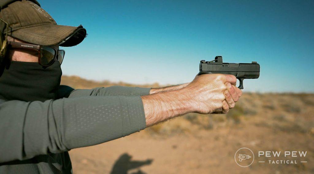 Glock G43X Shooting