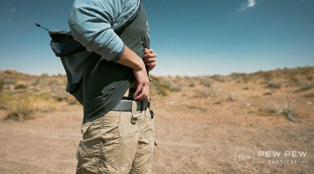 Glock G43X Concealed Draw
