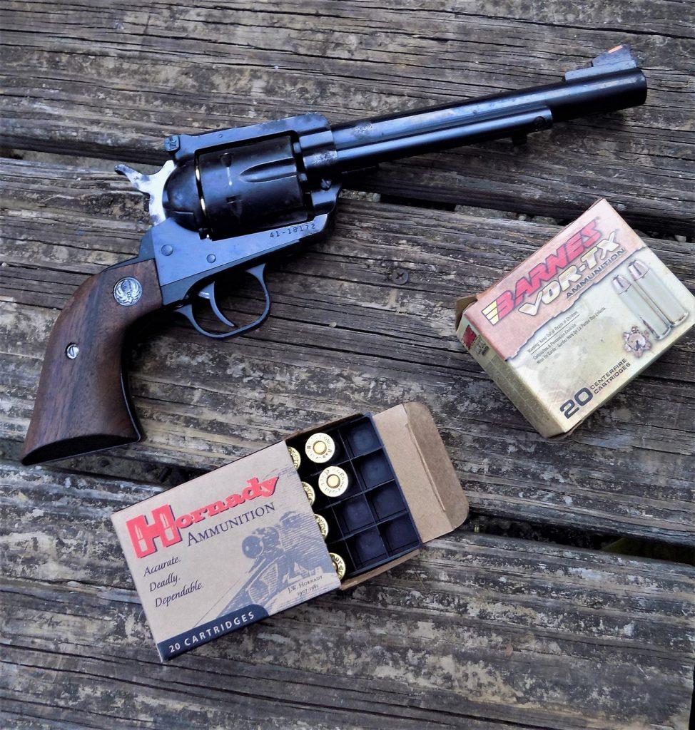 A Ruger Blackhawk with .41 Magnum