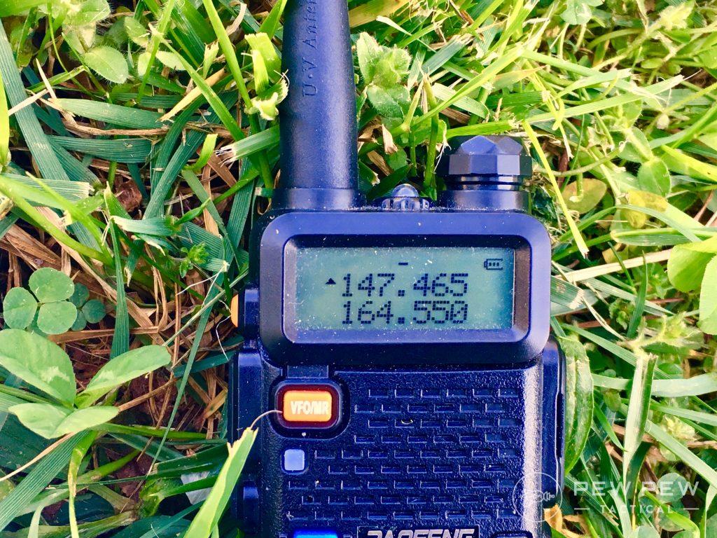 Baofeng UV-5R Programming