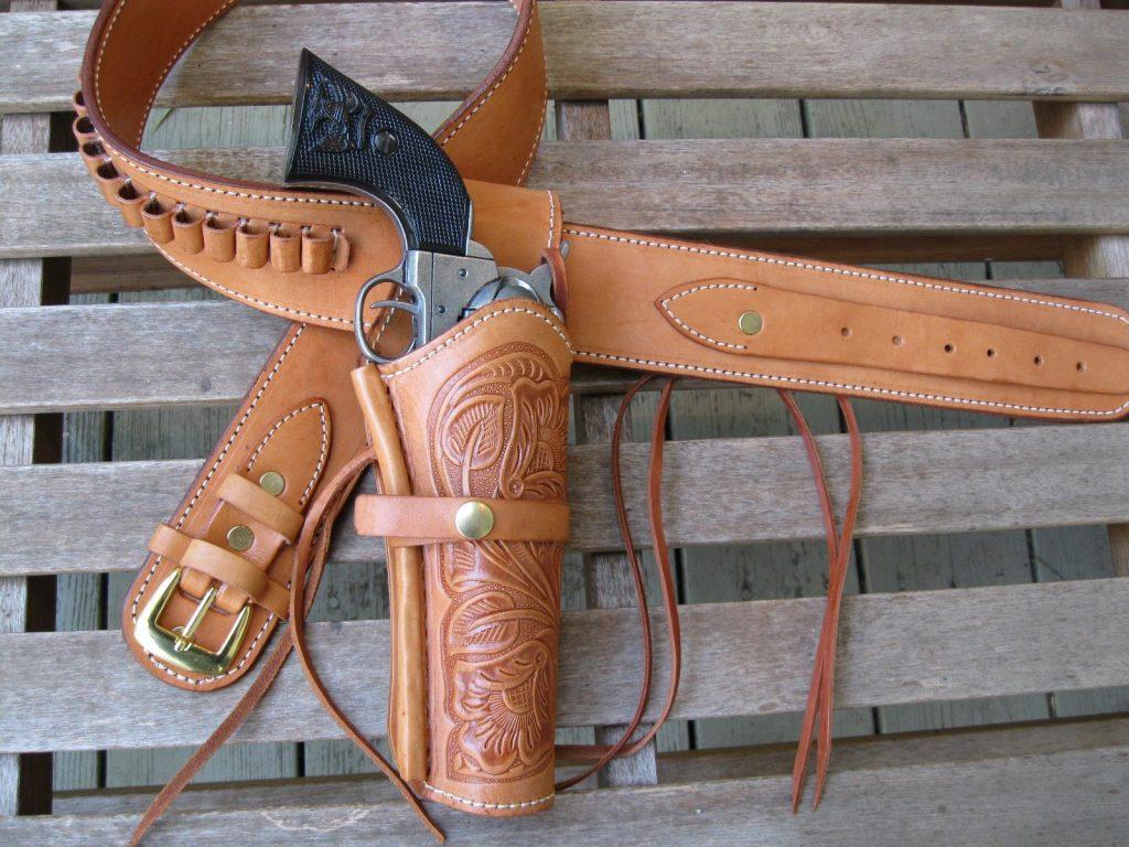 Bull Creek Leather Western Gun Belt