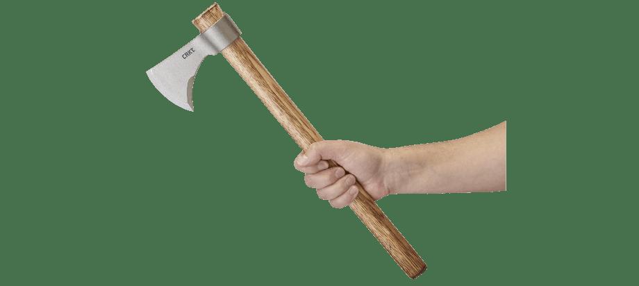 CRKT Nobo Tomahawk In hand