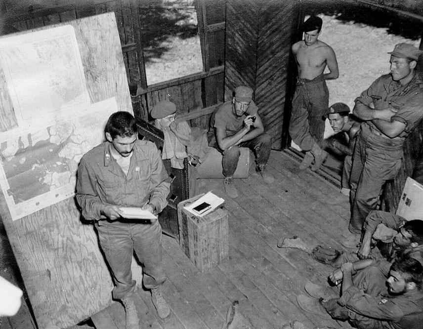 Detatchment 404, Burma, 1945