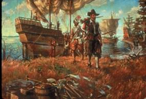 English Arrive Jamestown