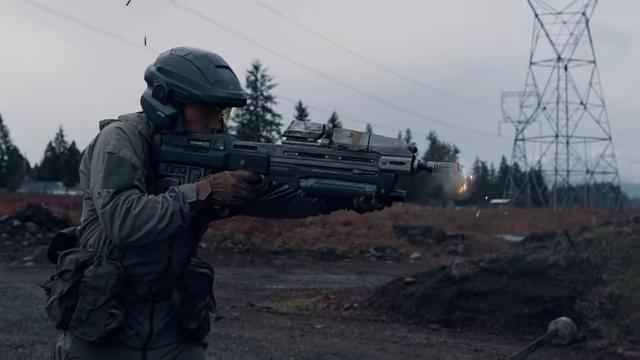 Garand Thumb MA37 Assault Rifle