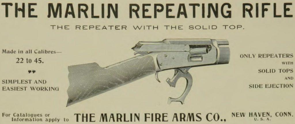 Marlin Model 1894 Advertisement
